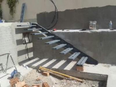 Trabajos for Detalle escalera volada